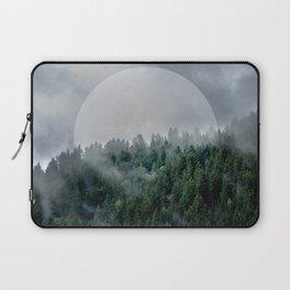 Foggy Woods 3 Laptop Sleeve