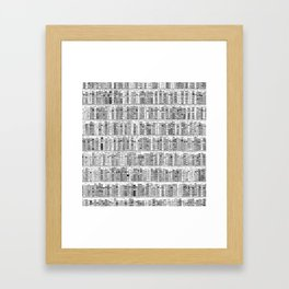 The Library II Framed Art Print