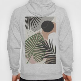 Minimal Jungle Leaves Finesse #2 #tropical #decor #art #society6 Hoody