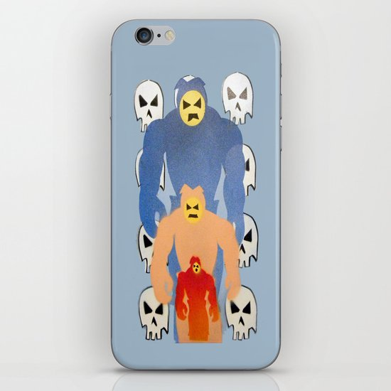 invaderz iPhone Skin