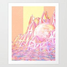 PURITANIA Art Print