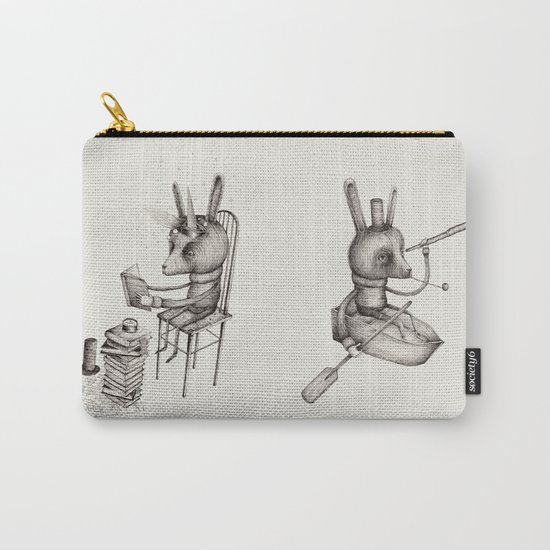 'Dreams Of Leaving' (Part 1 & 2) Carry-All Pouch