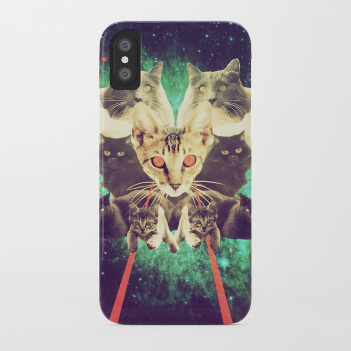 Galactic Cats Saga 1 iPhone Case