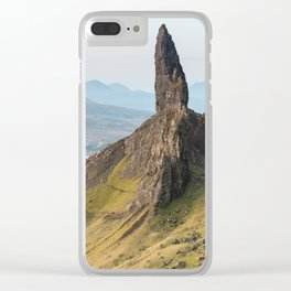 Oldman of Storr Clear iPhone Case