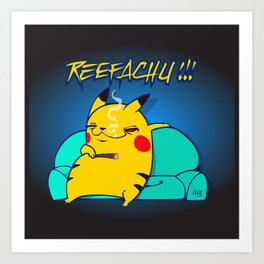 REEFACHU!!! Art Print