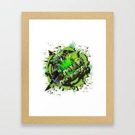 Mud Monster MX Framed Art Print
