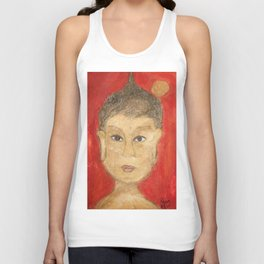 The Buddha Unisex Tank Top