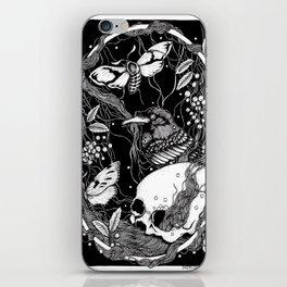 edgar allan poe - raven's nightmare iPhone Skin