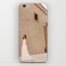 New White Dress II iPhone Skin