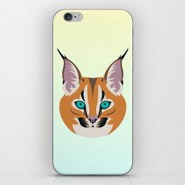 Caracal linx iPhone Skin