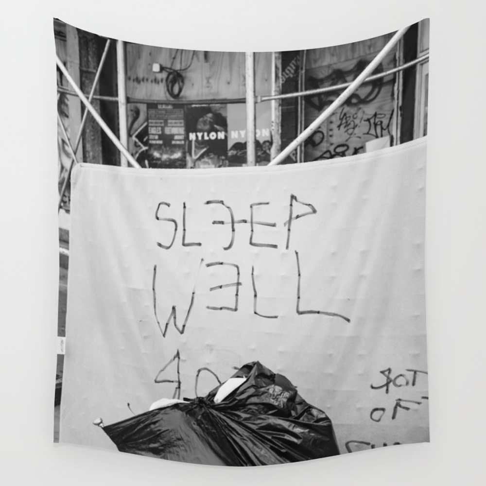 The City That Never Sleeps Wall Tapestry by Bethanyyoung TPS6890251