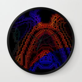 Warm and Cool Wall Clock