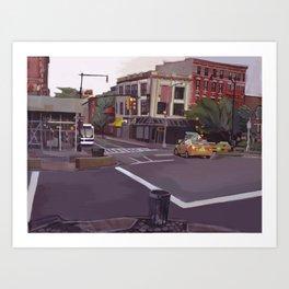106TH STREET Art Print