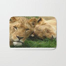 Asian Lions (Panthera leo persica) Bath Mat