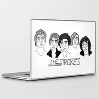 cactei Laptop & iPad Skins featuring The Strokes by ☿ cactei ☿