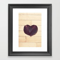 Love Framed Art Print