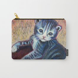 Button the Kitten Carry-All Pouch