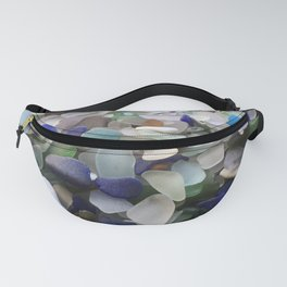 Sea Glass Assortment 5 Fanny Pack