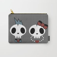 punk rawk couple Carry-All Pouch