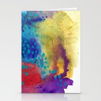 shield Stationery Cards featuring Shield by Jessalin Beutler