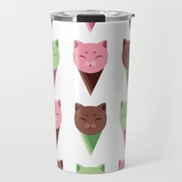 Icecream Cats Travel Mug