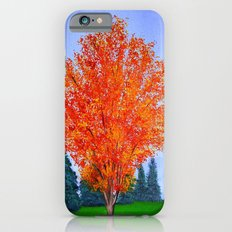 Fall tree in ND iPhone 6s Slim Case