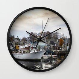 Kennebunkport Habor  Wall Clock