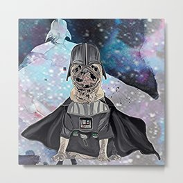 Darth Boggie Metal Print