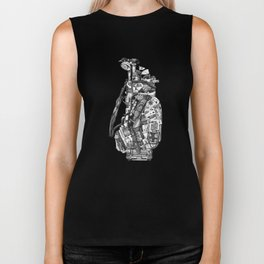King of Clubs Biker Tank