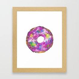 Psychedelic Phrosted Doughnut Baker's Dozen #1 Framed Art Print