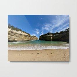 Loch Ard Gorge, Australia Metal Print