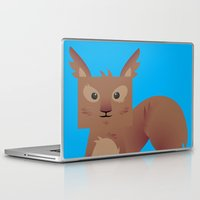 furry Laptop & iPad Skins featuring Furry Squirrel by Yay Paul
