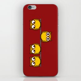 A whole new perspective for the owl iPhone Skin