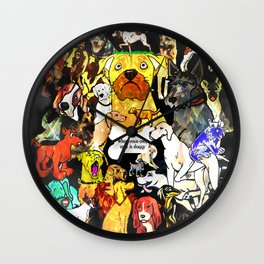 When Your Only Style Is Doggy Wall Clock