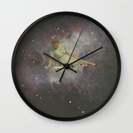 Time to curl up with a good book Wall Clock