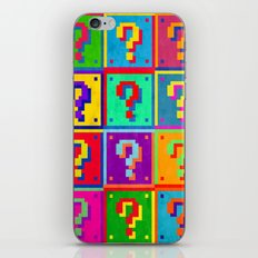 Mario Blocks iPhone & iPod Skin