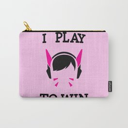 I Play to Win - D.Va Carry-All Pouch