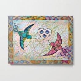 Love Birds 2 Metal Print