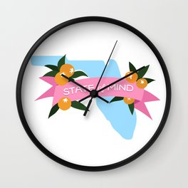 Florida State of Mind Wall Clock