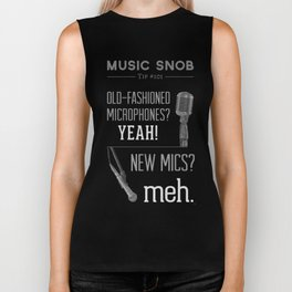 Yeah or Meh: The Microphone — Music Snob Tip #101 Biker Tank