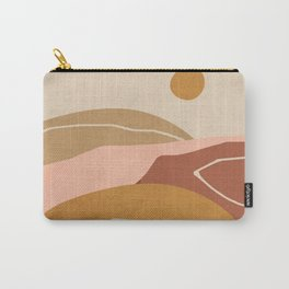 Minimal Abstract Art Landscape 3 Carry-All Pouch