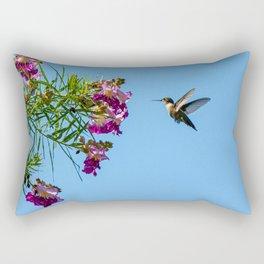 The Hummingbird Rectangular Pillow