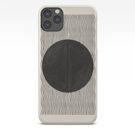 Woodblock Paper Art iPhone Case