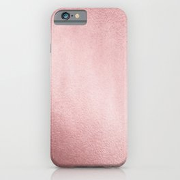 Simply Rose Gold Sunset iPhone Case