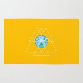 Sacred Geometry Sea Rug