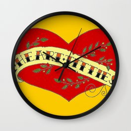 I Heart Titties, Colourful Wall Clock
