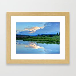 Snake River Reflection - Grand Teton National Park - Wyoming Framed Art Print