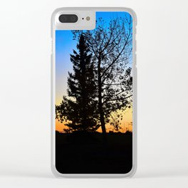 Tree of Bi Clear iPhone Case