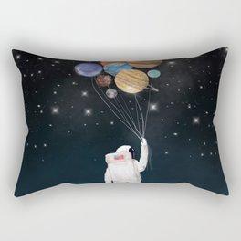 balloon universe Rectangular Pillow