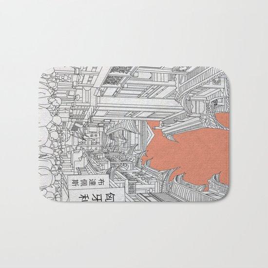 Street in China Bath Mat